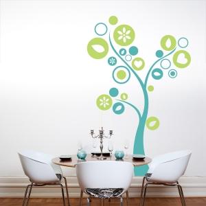 Circle Tree Wall Art Decal