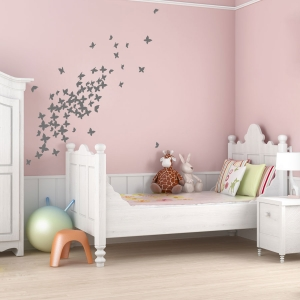 Flock of Butterflies wall decal