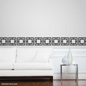 Geo-Tiles Wall Decal