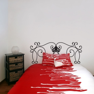 Florentine Headboard wall decal