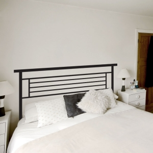 Montgomery Iron Headboard Wall Decal