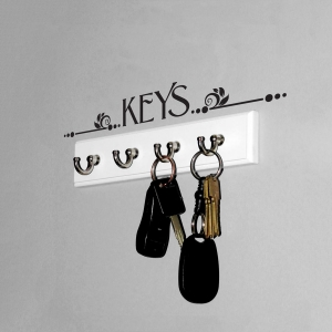 Keys Wall Art Decal