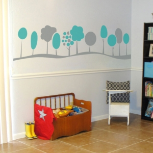 Mini Trees Wall Decal