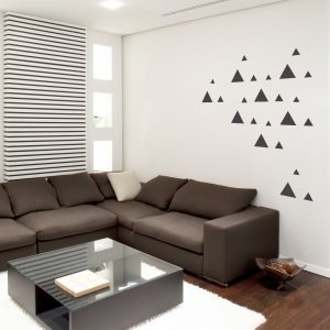 Tri-Triangles Wall Decal
