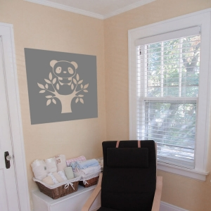 Lil Panda Wall Decal