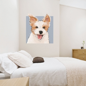 Jack Russell Terrier Dog Wall Decal
