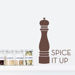 Spice It Up - Pepper Grinder - Wall Decal