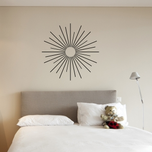 Starburts wall decal