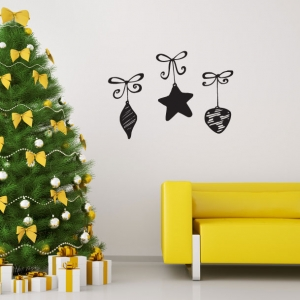 Ornaments wall decal