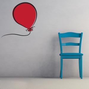 Balloon wall decal