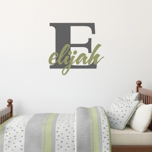 Custom Children's Name Wall Decal