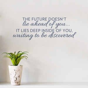 Future Waiting to be Discovered Wall Decal