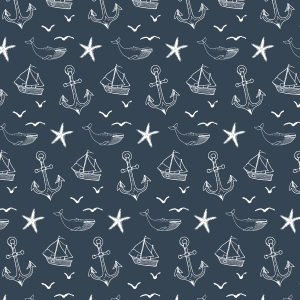Nautical Seas Removable Wallpaper Tile