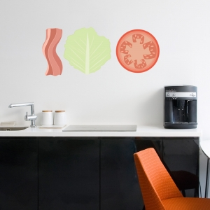 BLT Printed Wall Decal