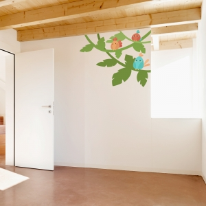 Bird Vines Wall Decal