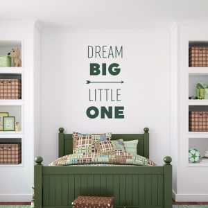 Dream Big Wall Art Decal