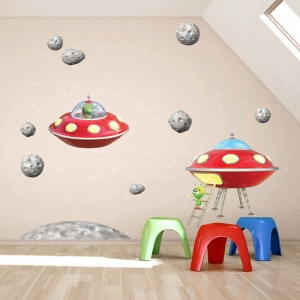 Alien Adventures Wall Decal