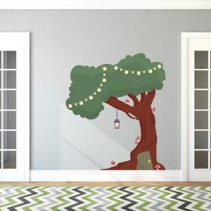 Enchanted Tree House Summer Green