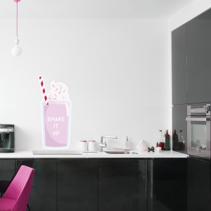 Milkshake Printed Wall Decal