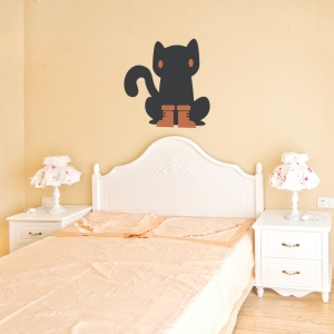 Puss In Boots Printed Wall Decal