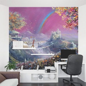 Dream Land Office Wall Mural