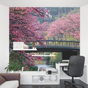 Blossoms in Okinawa Wall Mural
