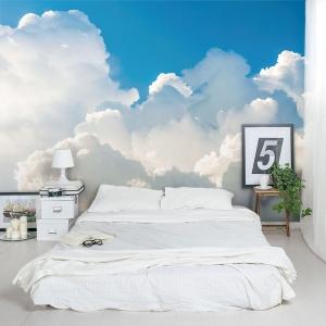 Cumulus Clouds Wall Mural