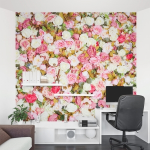 Rose Abundance Wall Mural
