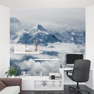 Mountain Peaks Wall Mural