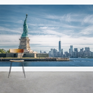 Lady Liberty Wall Mural