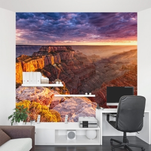 Sunrise in Grand Canyon Wall Mural