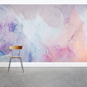 Watercolor on Canvas Wall Mural