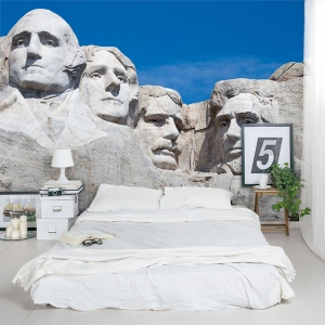 Mt. Rushmore Wall Mural