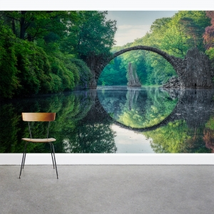 Arch Bridge Wall Mural