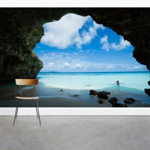 Cave Shore Wall Mural