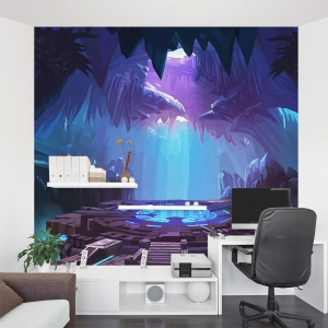 Beam me up Wall Mural