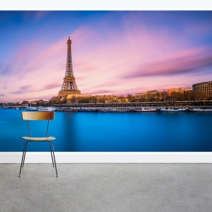 Tower by the Lake Wall Mural