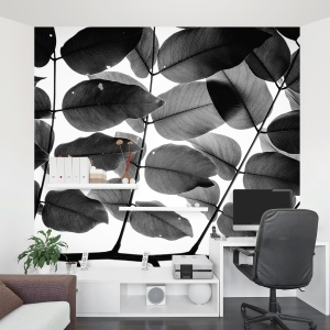 Branches and Leaves Wall Mural