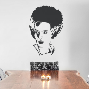 Frankenstein's Bride Wall Decal