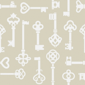 Keys Removable Wallpaper Tiles