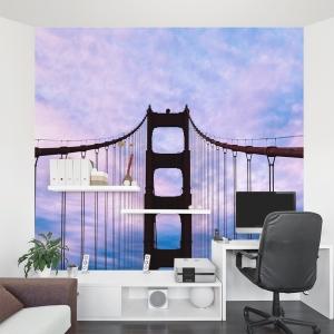 On the Golden Gate Bridge Wall Mural
