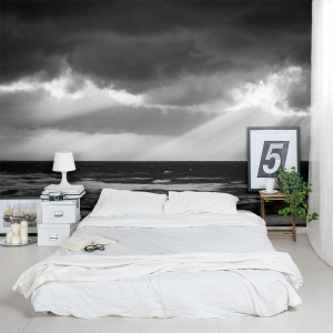 Storm over the Mediterranean (1) Wall Mural
