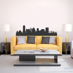 Memphis Tennessee Skyline Vinyl Wall Art Decal