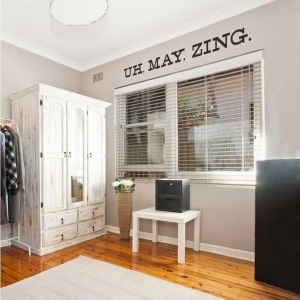 Uh. May. Zing. Wall Decal