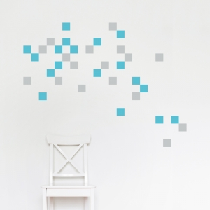 Block-Fetti Wall Decal
