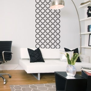 Contemporary Circles Wall Decal