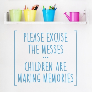 Children Are Making Memories Wall Decal