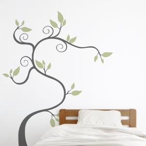 Twisty Tree Wall Decal