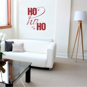 Ho Ho Ho II Wall Decal