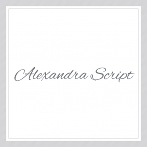 Alexandra Script - Custom Text Wall Decal